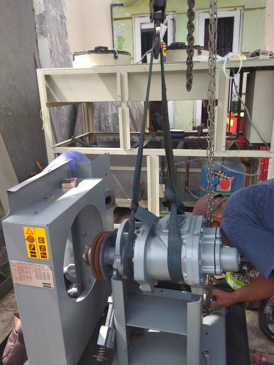 service compressor